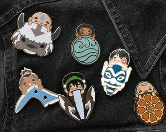 Avatar the Last Airbender Enamel Pins