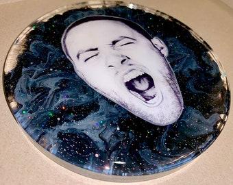 Mac Miller GO:OD AM Large Coaster