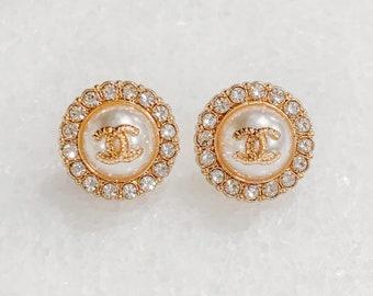 Vintage Designer Burton earrings