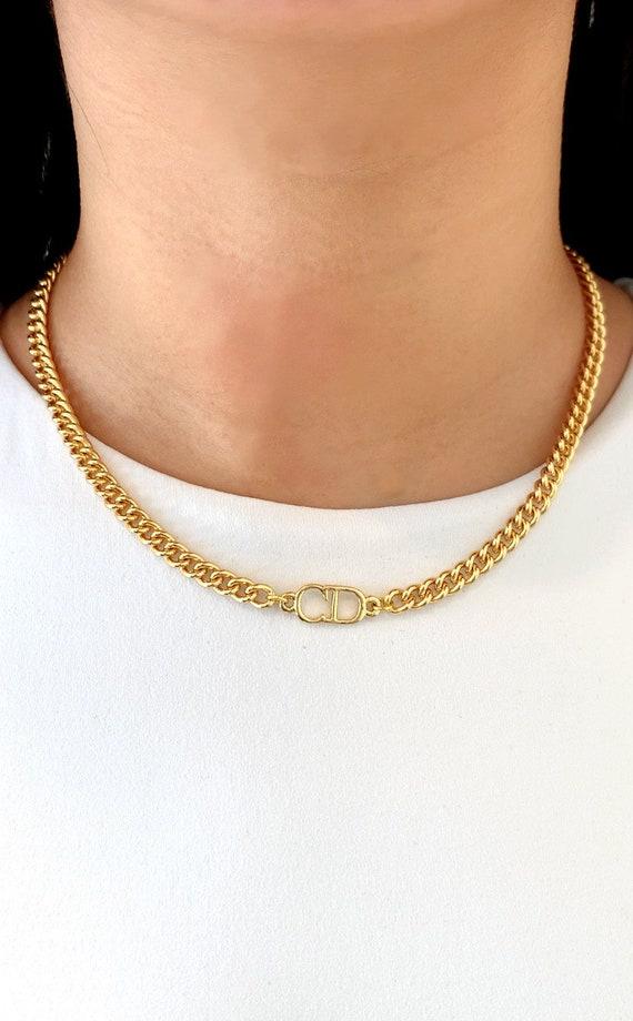 Christian Dior Gold Choker