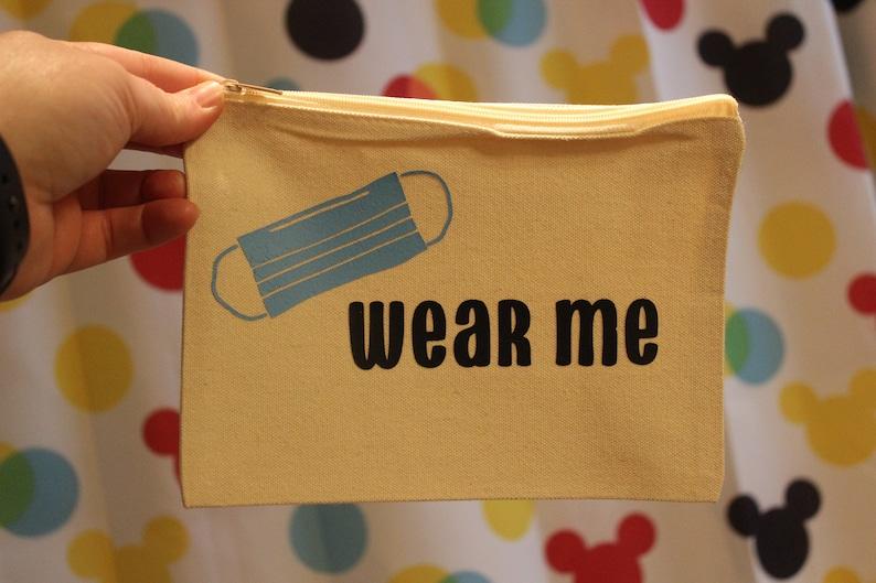 Wash me READY TO SHIP Wear Me Mask Bags Set