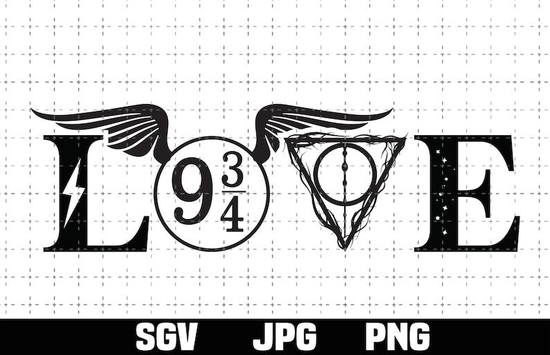 Download Love Harry SVG PNG Always svg potter svg Gift Birthday | Etsy