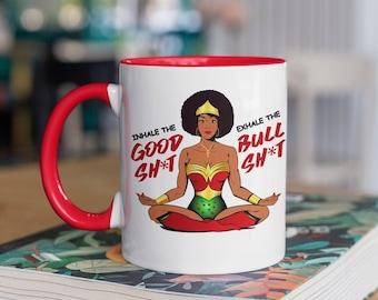 Wonder Woman Personalised Mug Cup Birthday Christmas Gift Any NAME