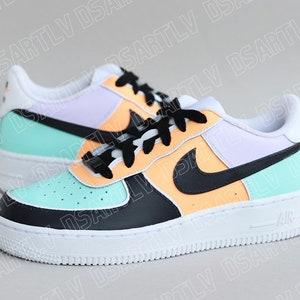 Nike Air Force 1 Chaussures pastel Custom Sneakers | Etsy
