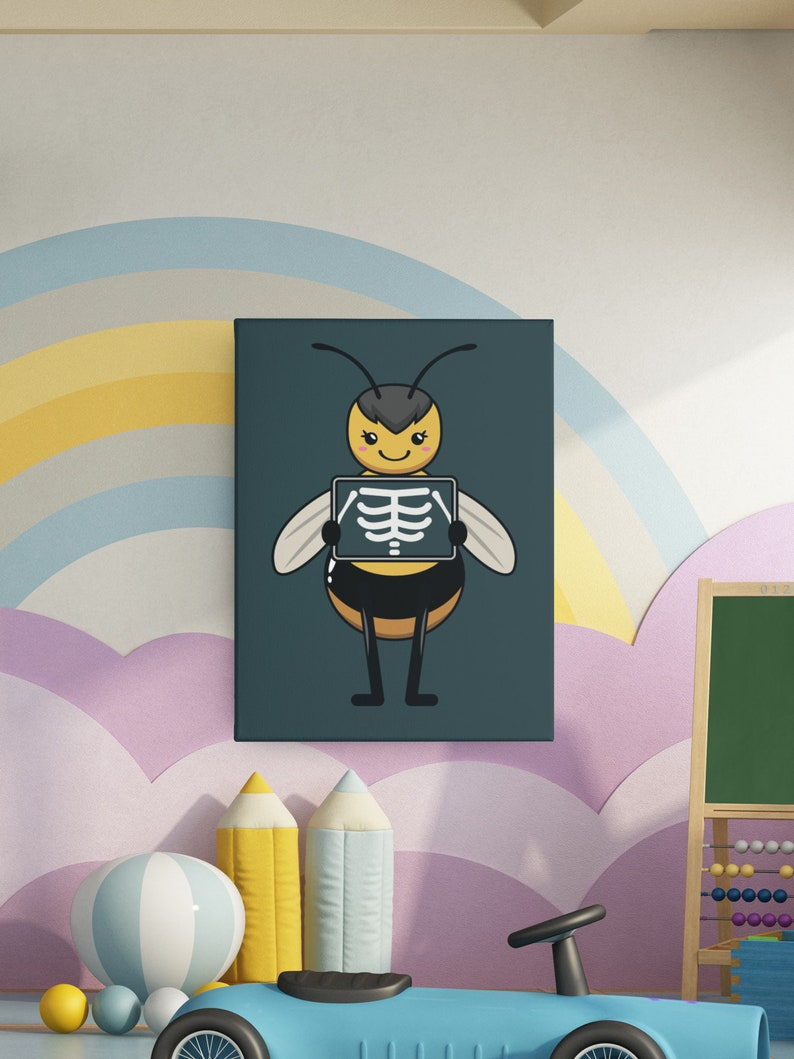 Kids Print Childrens Print Perfect For Bedrooms and Nurseries Bee Print
