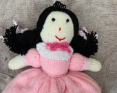 Topsy Turvey Knitted Doll