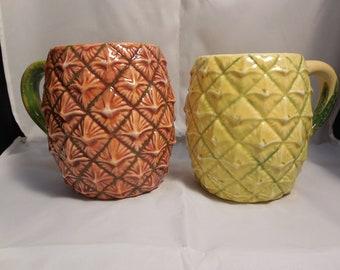 Hula Hawaiian Pineapple Mug