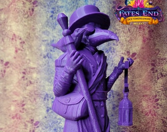 """Plague Doctor Dice Tower 