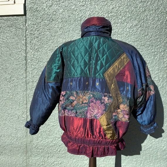 80s Patchwork Puffer Jacket - image 2