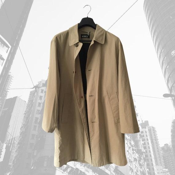 Raincoat, Classic Linen Coat, Beige Linen Jacket,