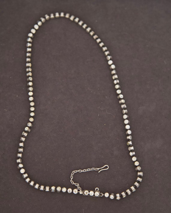 Victorian Paste Sterling Necklace