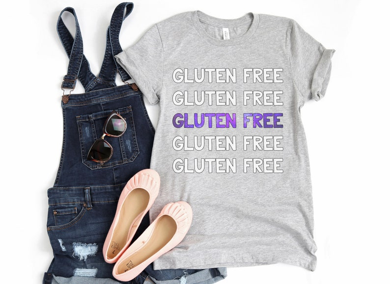 Gluten Free Tshirt Gluten Free Gift Womens Coeliac Gift image 0
