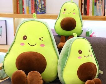 Avocado Plush, Stuffed Toys, Super Soft Toys for Kids, Gift For Her,