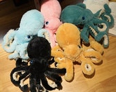 Octopus Plush, Chubby Octopoda Plushie, Soft Toy for Kids