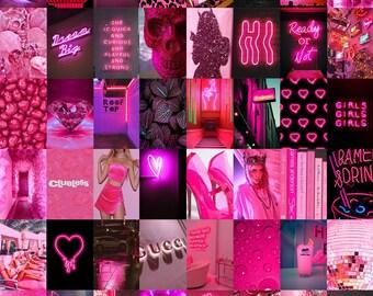 Neon Art Collage Etsy