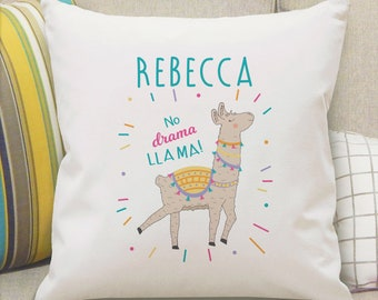 Personalized Llama Pillow nap and