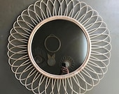 Dandelion Natural Rattan Mirror Frame