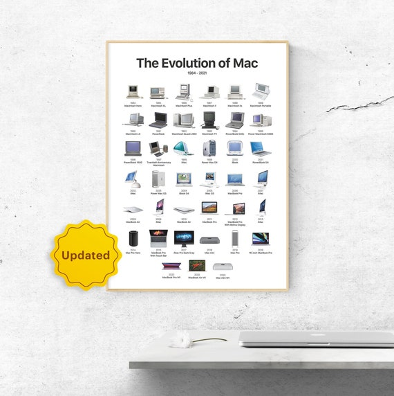 APPLE MAC COMPUTERS Poster Wall Art Home Decoration Photo Print 24x36 inches 7
