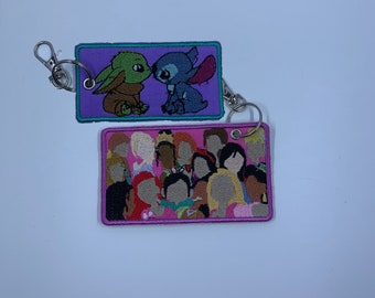 Luggage Tag | Accessories | Keychain Accessory | Keychain Tag | Gifts For Her | Key Holder | Keychain | Gift For Him | Gift