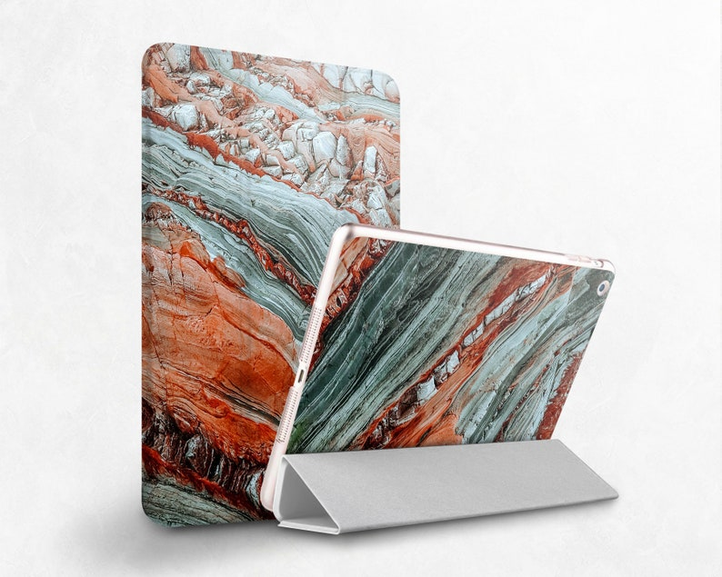 Red Marble Case iPad Pro 10.5 Green Granite iPad Smart Cover 9.7 iPad 10.2 Case iPad 2019 Mini iPad Case iPad 11 2020 Case iPad 12.9 Cover