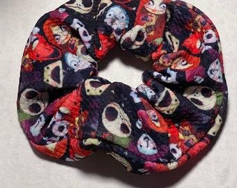 Kids Paw Patrol Hair Scrunchie-Hair Tie Ponytail Holder Hair Scrunchy Top Knot Hair Elastic Gift Favor Handmade Little Girl