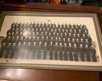 WW2 Naval Training Center Original Photo