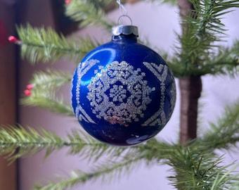 1960s Glass Blown Ornament