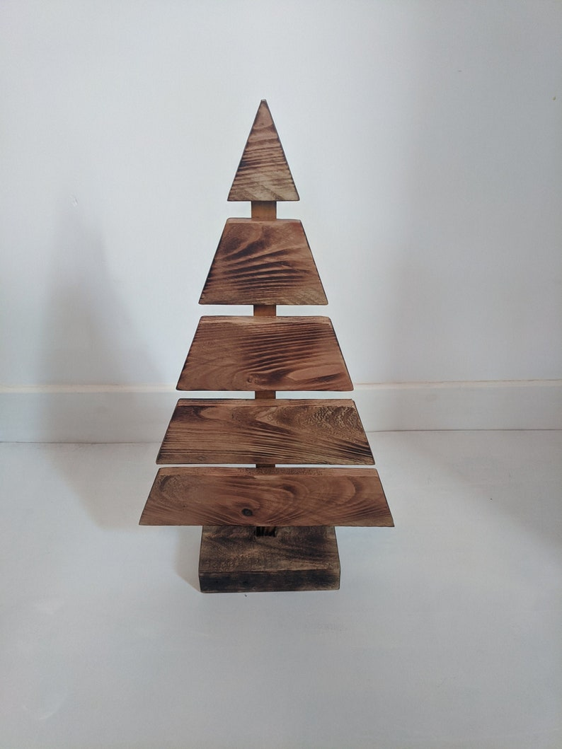 Reclaimed Wood Christmas Tree Etsy