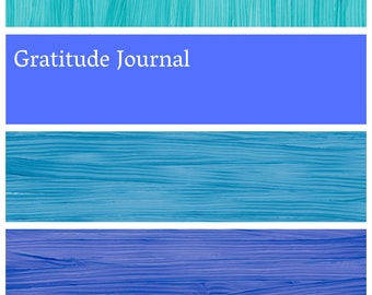 Gratitude Journal - Guided Prompts for a grateful day