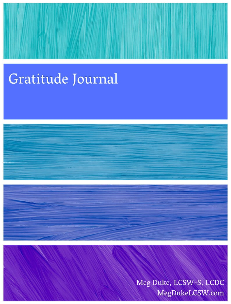 Gratitude Journal  Guided Prompts for a grateful day image 0