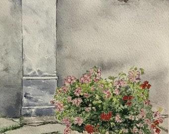 In Memory Of..., Watercolor Painting