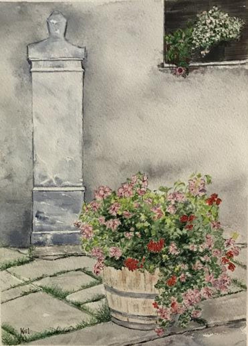 In Memory Of... Watercolor Painting image 0