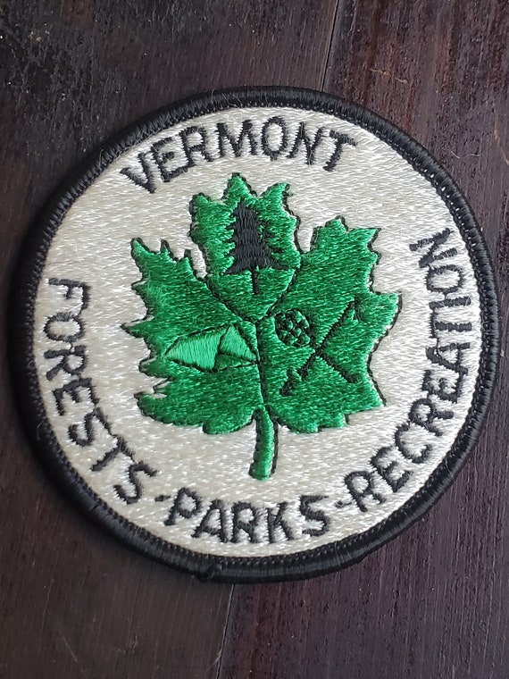 Vermont Forests Parks and Recreation Sew-On Patch