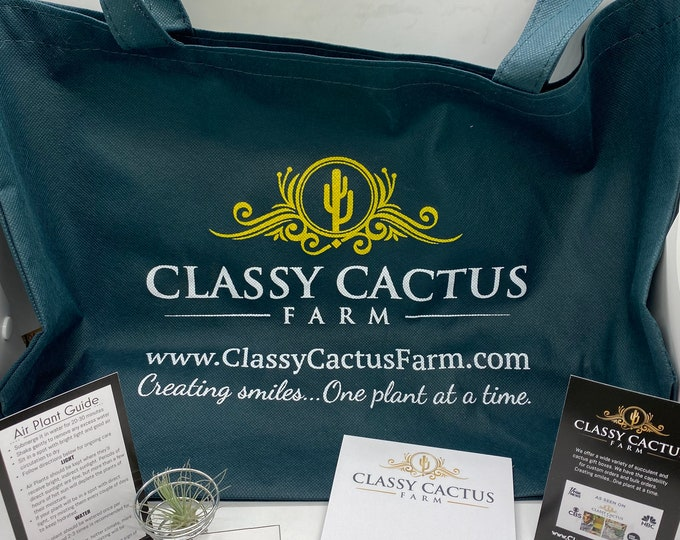 Classy Cactus Swag Bag. Coupon in every bag!