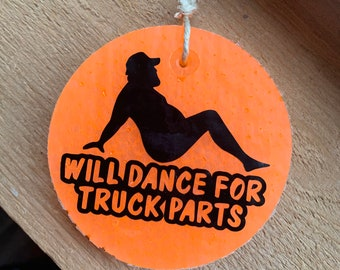 Dance for truck parts freshie