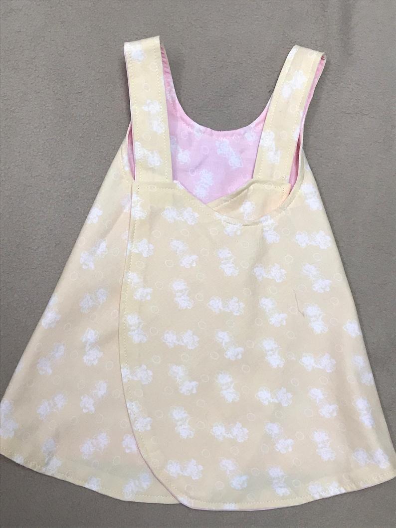 Reversible Summer Dress with Ruffled Panties