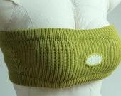 Matcha knitting headband - Prototype