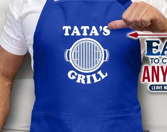 love family shirt personalized gift tata shirt tata birthday Tata gift tata birthday gift apron pregnancy announcement family