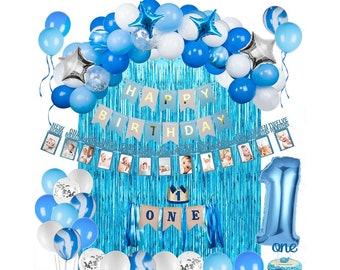 1st Birthday Decorations Boy Etsy