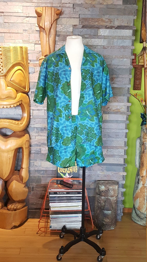 Mens 60's Vintage Hookano Cabana Set size LG for T