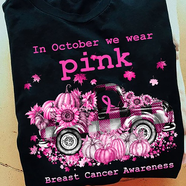 In October We Wear Pink Breast Cancer Awareness Shirt Masswerks Store