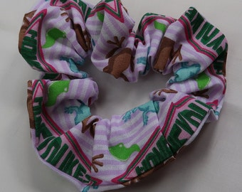 Harry Potter sweets themed handmade scrunchie