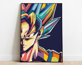 Dragon Ball Z Super DBZ Majin Kid Buu Poster Wall Art 11x17 13x19