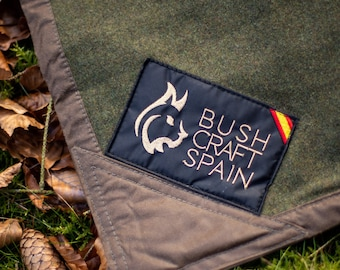 Oilskin And Wool Ground Cloth - Handmade Gen2 Sleeping Base For Campsite & Outdoor Activities | Campground Essentials, Camping Kit Available