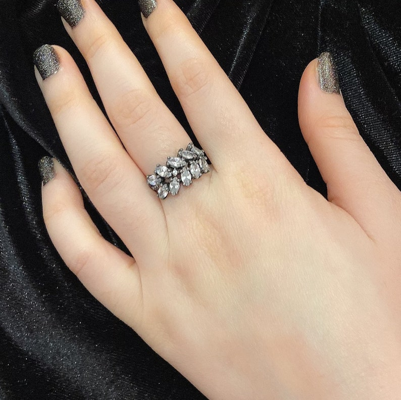 925 sterling silver,gifts for her,women silver rings,zircon rings,gifts for her