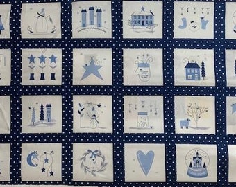Crystal Lane by Bunny Hill designs for Moda, Fabric Panel