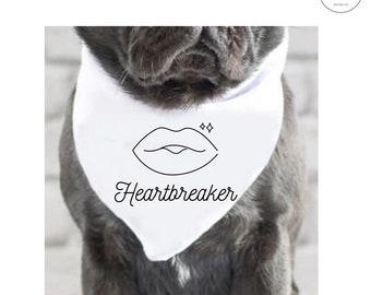 Heartbreaker dog cat Pet Bandana