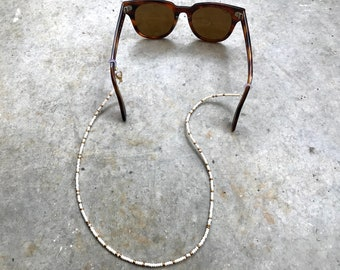 "Eyewear chain ""Cream"" | Mask Necklace | Glasses Chain"