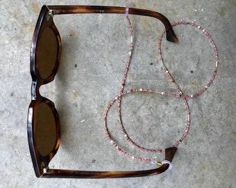 "Eyewear chain ""Marshmallow"" | Mask Necklace | Glasses Chain"