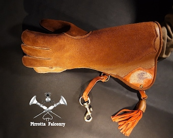 Falconry glove - Eagle glove - Falconry equipment - Medieval - Medieval glove - Falconer gift - Handmade in Italy